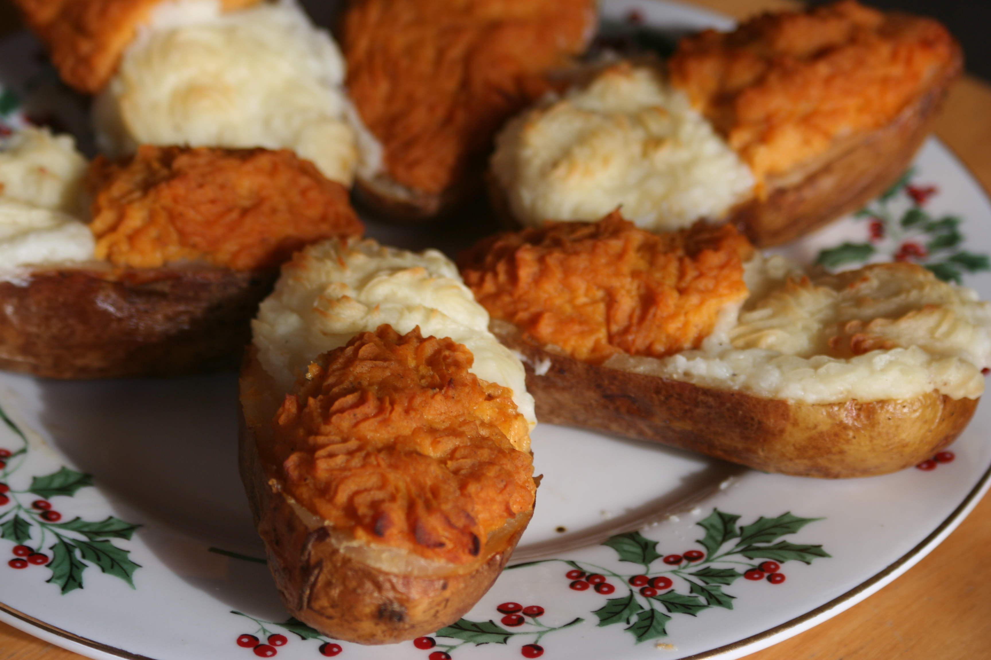 My Mom's Twice Baked Potato Boats (Fancy Version) Recipe ...