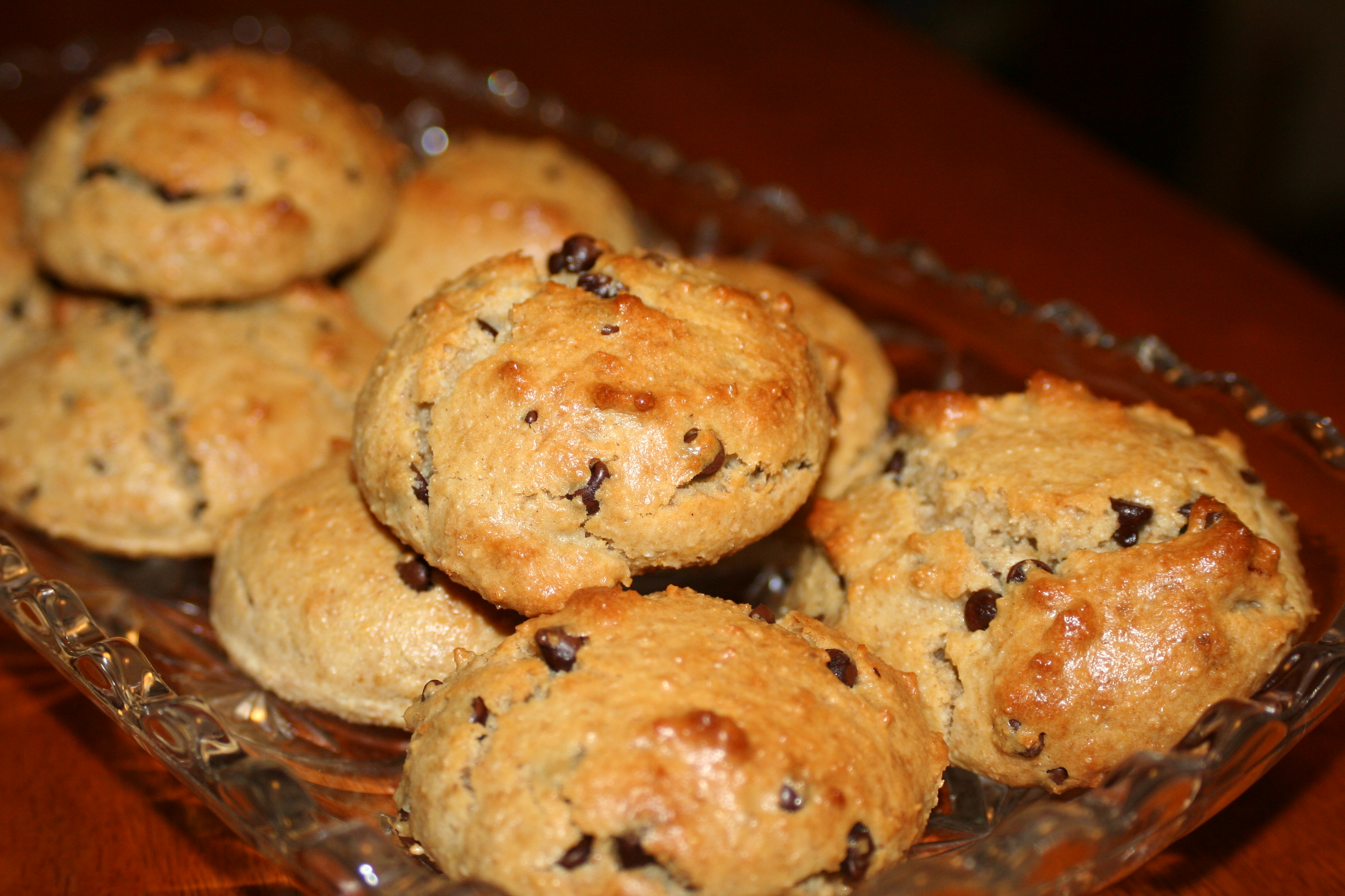 The Cooks Next Door: Gluten-Free Goodness: Chocolate Chip Scones