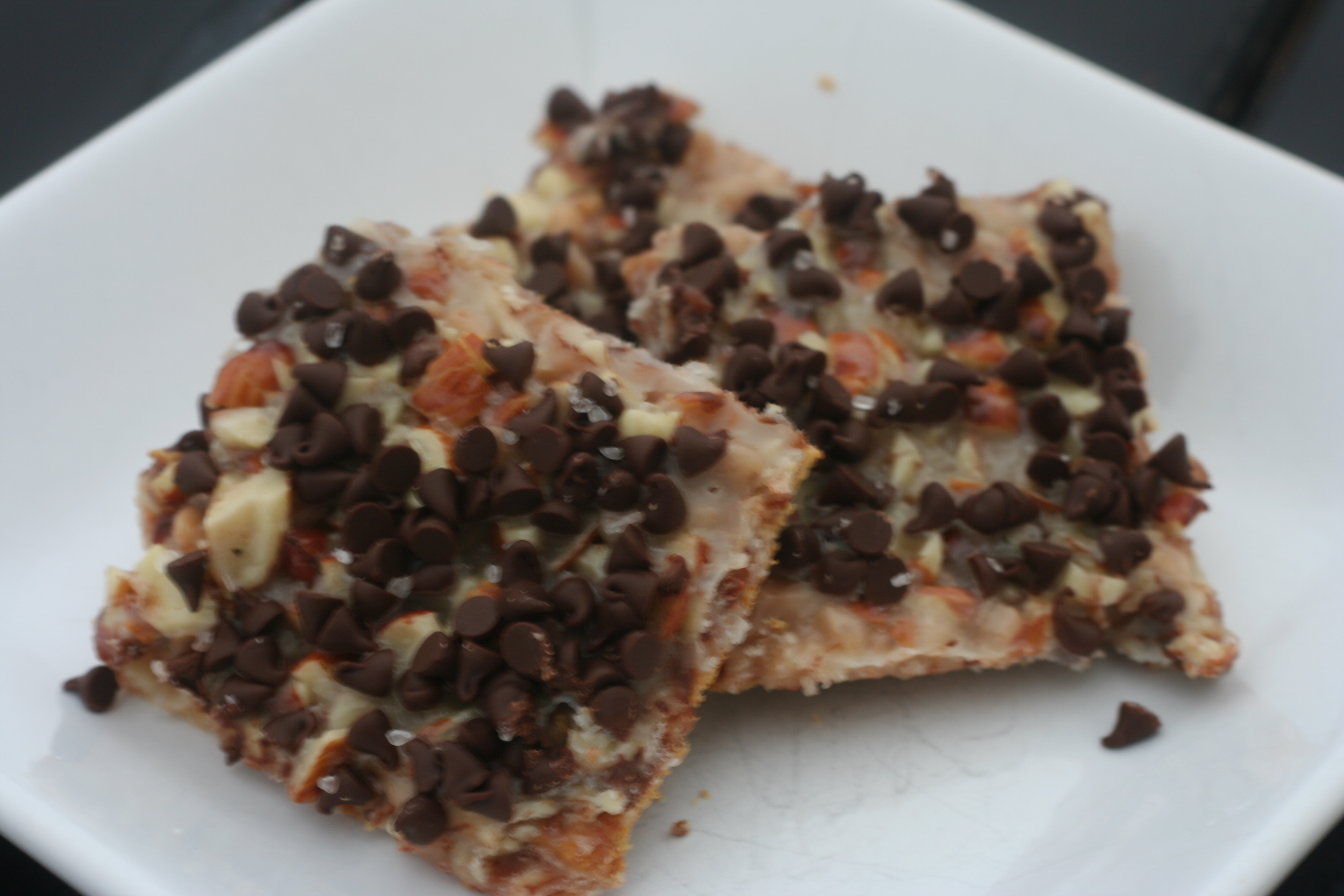 Baker's Delight: Salted Toffee-Chocolate Squares