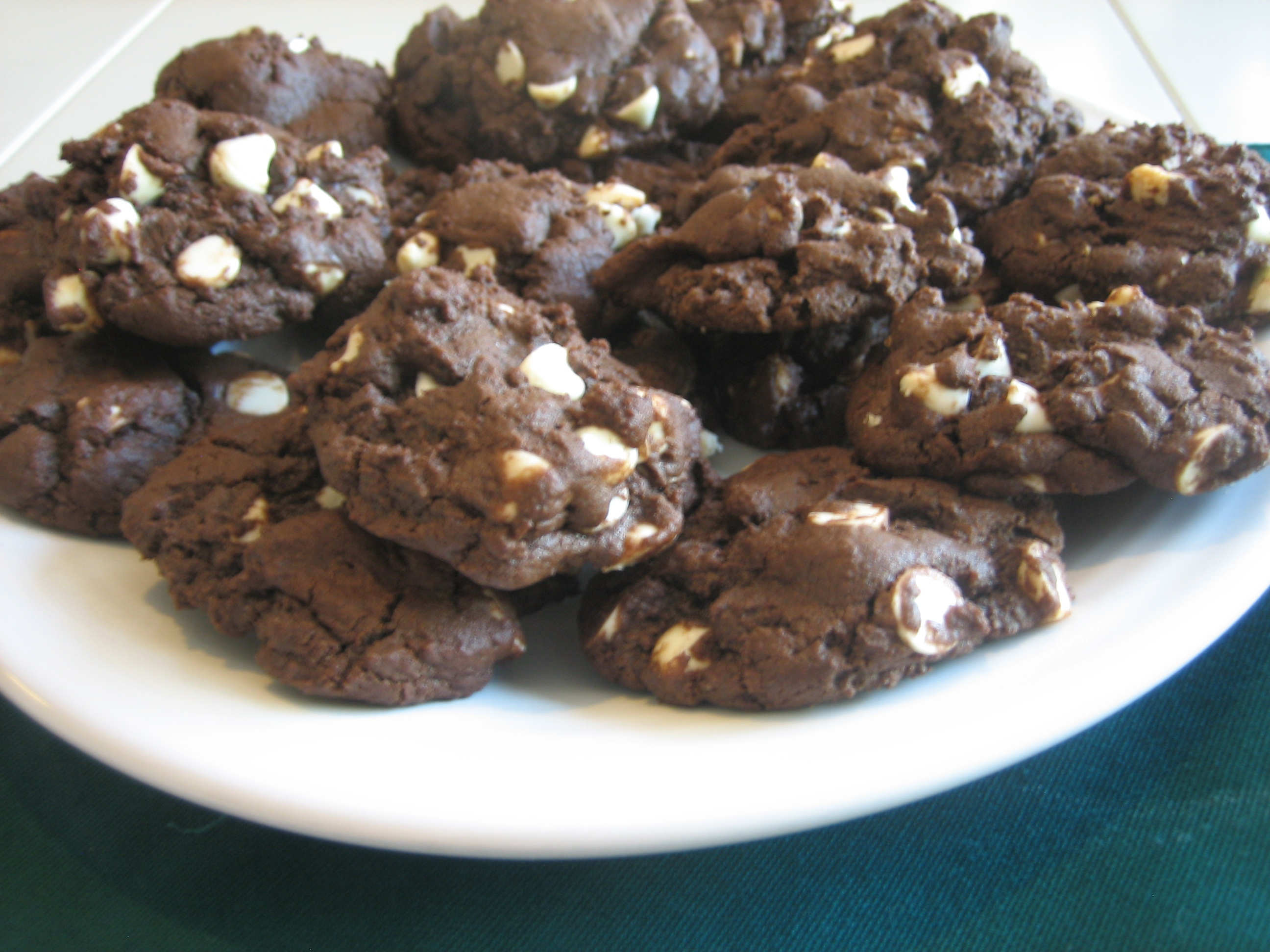 Double Chocolate Chunk Cookies Recipes — Dishmaps