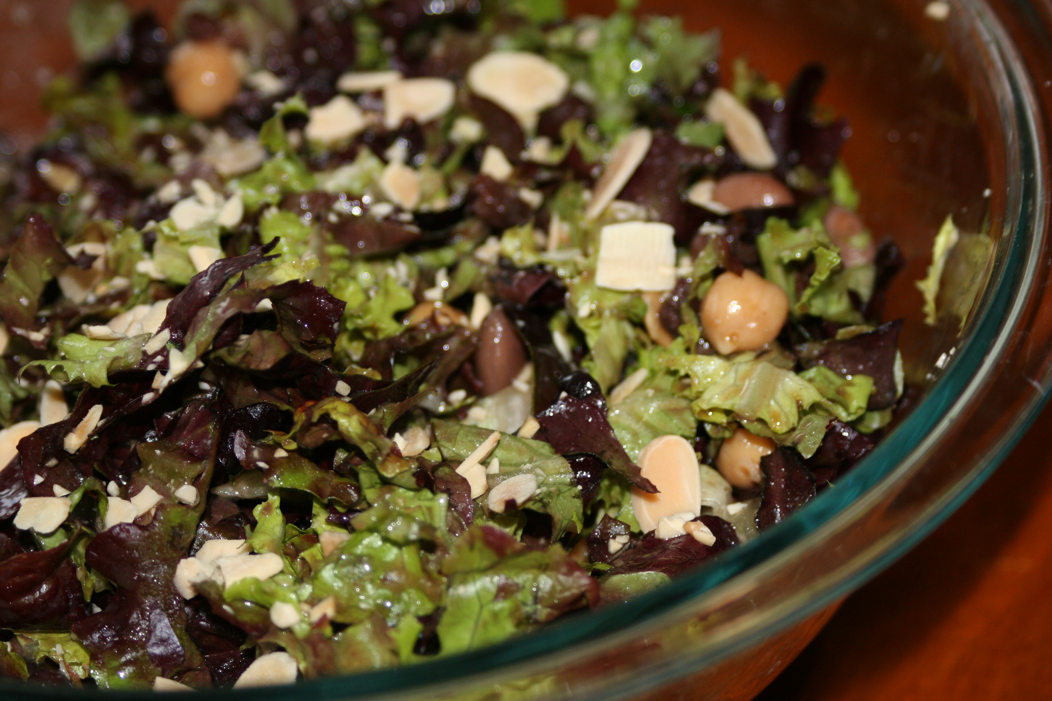 The Cooks Next Door: The Salad Bowl: Honey-Balsamic Bean Salad