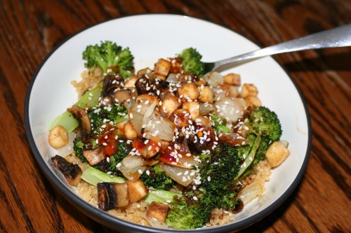 Asian Broccoli Bowls